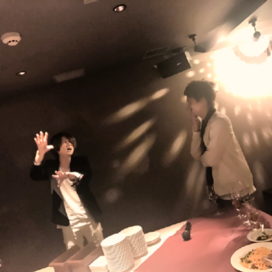 井上正大 with シウ